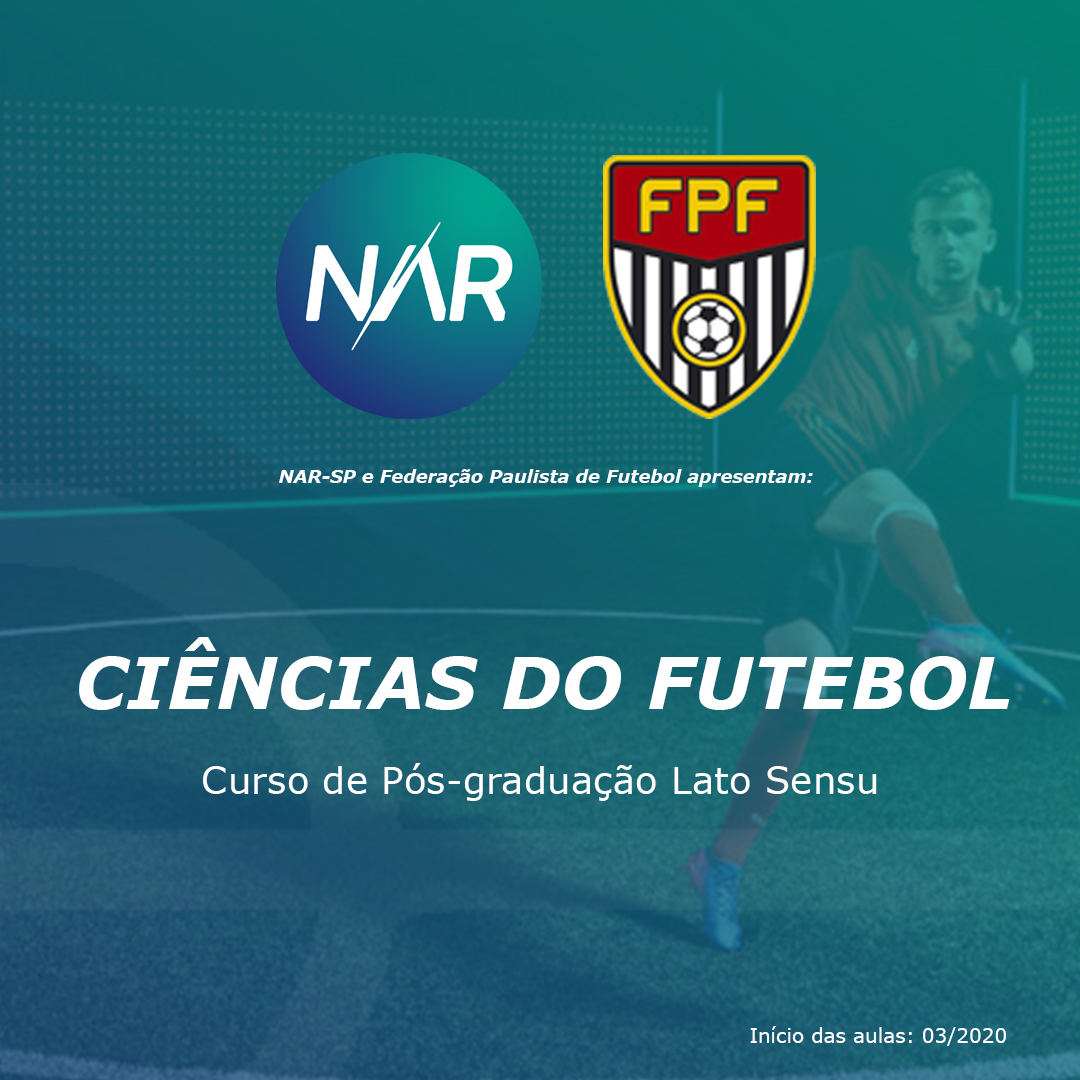 NAR-SP e Federação Paulista de Futebol lançam pós-graduação