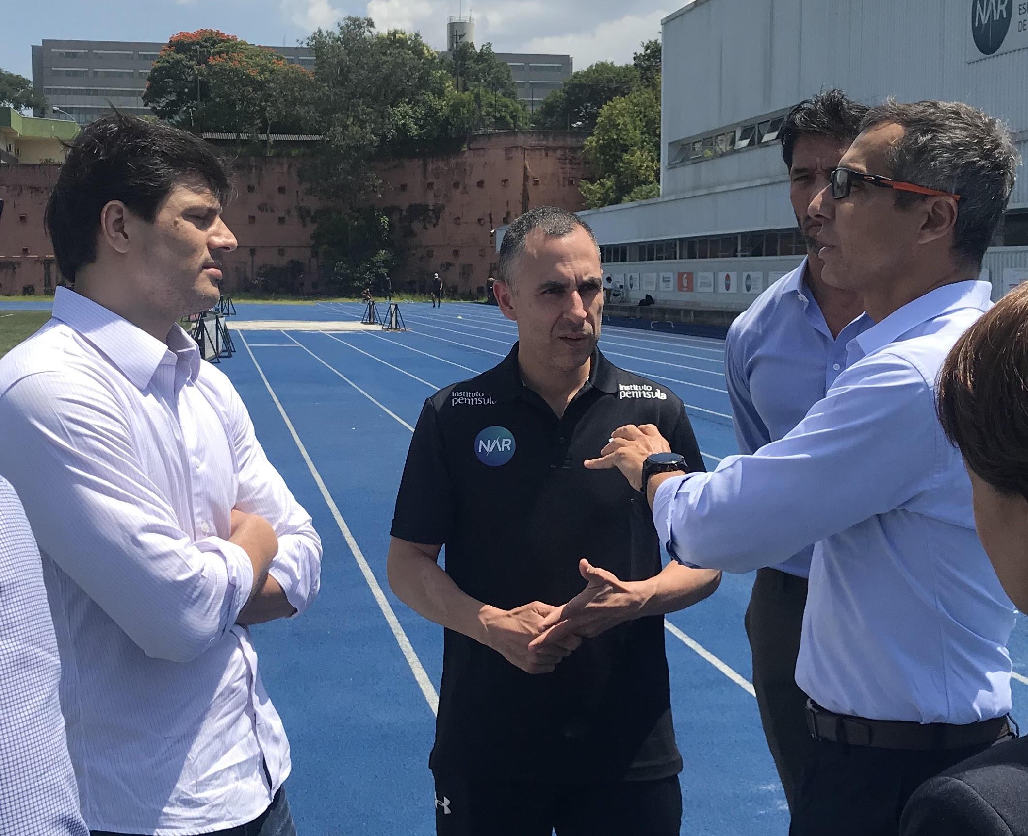 Novo Secretário Municipal de Esporte e Lazer de São Paulo visita o NAR-SP