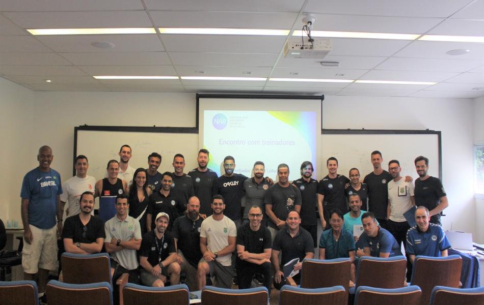 NAR-SP promove encontro com treinadores