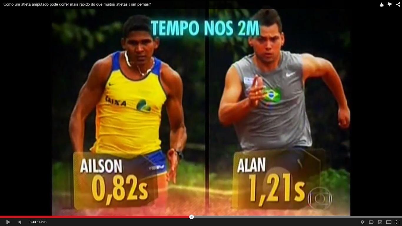 Como um atleta amputado pode correr mais rápido do que muitos atletas com pernas?
