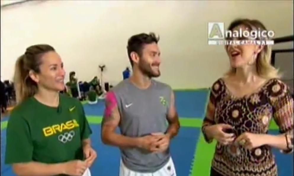 Casal pentacampeão Pan-Americano de karatê treina no NAR-SP