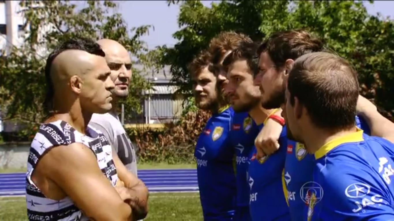 Vitor Berlfort e Glover Teixeira encaram seleção brasileira de rúgbi no NAR