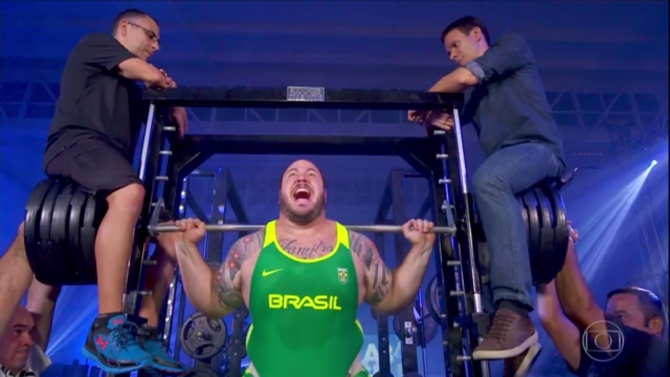 Fernando Reis, o homem mais forte do Brasil é analisado pelo Lab GE