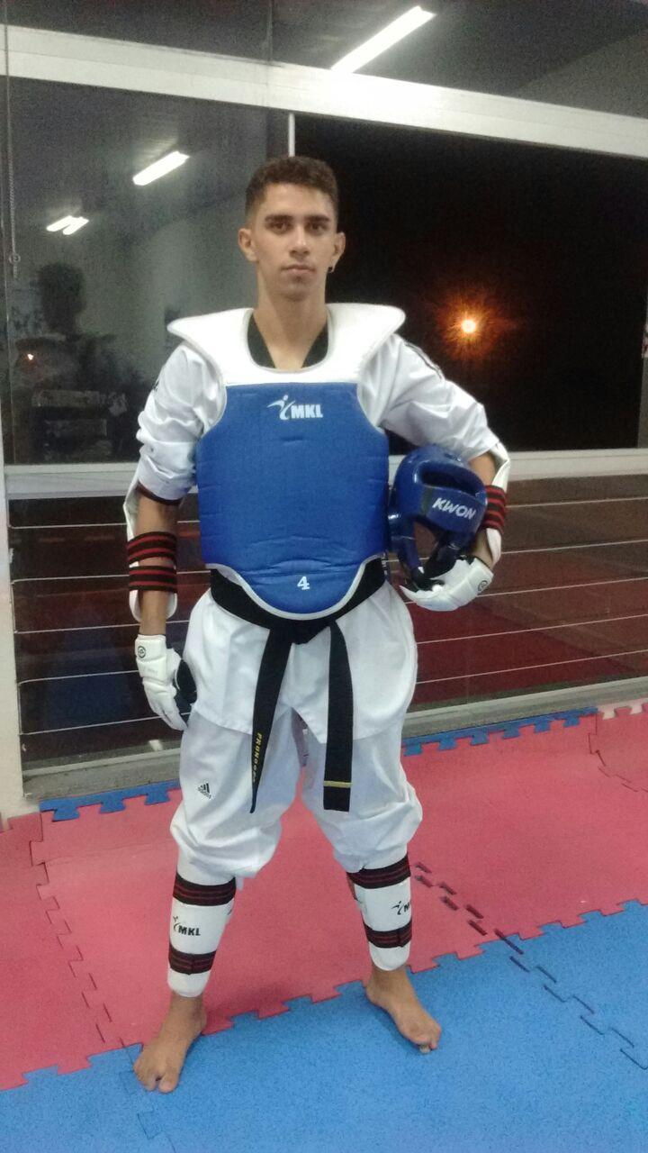 Atleta da Tamires Franco Team/Pronoger estará no Brasileiro de Taekwondo