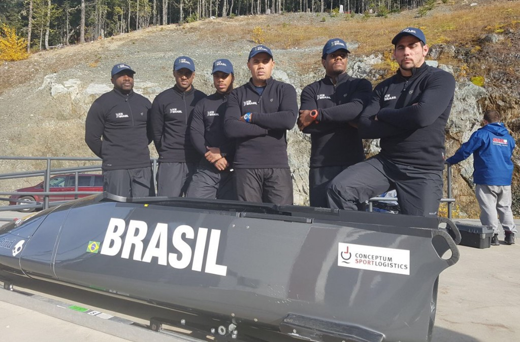 Começa a batalha brasileira por uma vaga no bobsled das Olimpíadas de Inverno