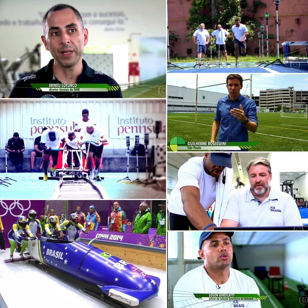 Brasil usa tecnologia para aprimorar a equipe de Bobsled para a Olimpíada de Inverno