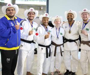 Seleção Brasileira de judô chega ao CT Paralímpico para nova fase de treinamento