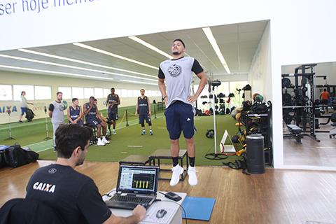 Mogi das Cruzes/Helbor inicia temporada com testes físicos dos atletas no NAR