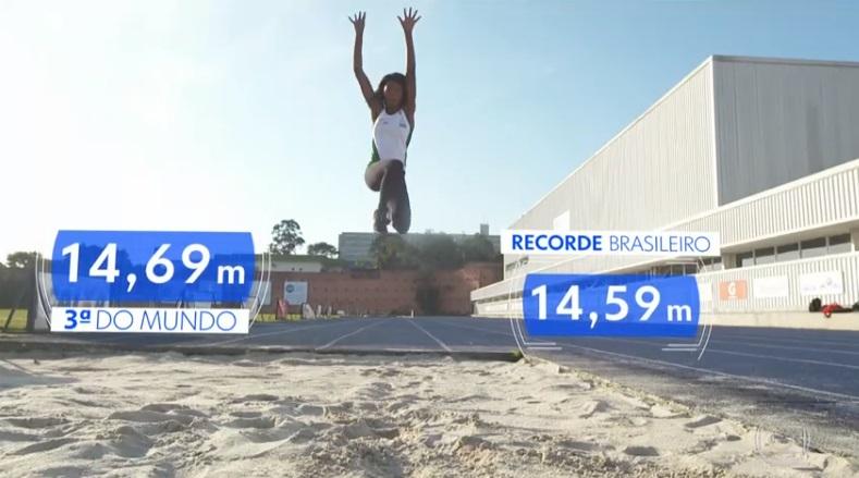 Brasil volta a se destacar no salto triplo