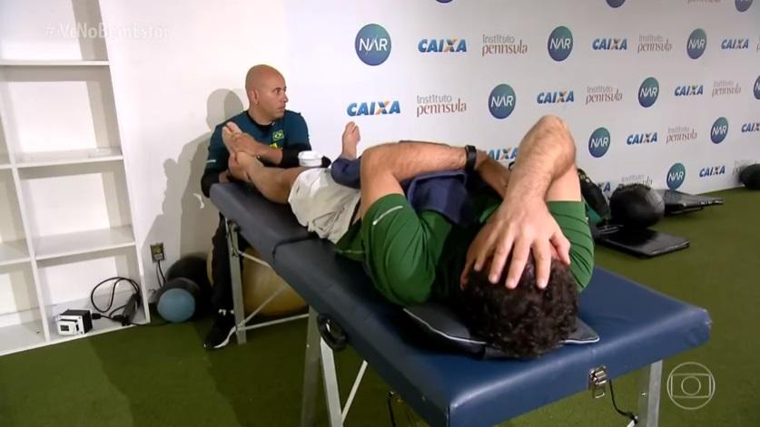 Série mostra a preparação de Fernando Rocha para participar de maratona nos alpes suíços
