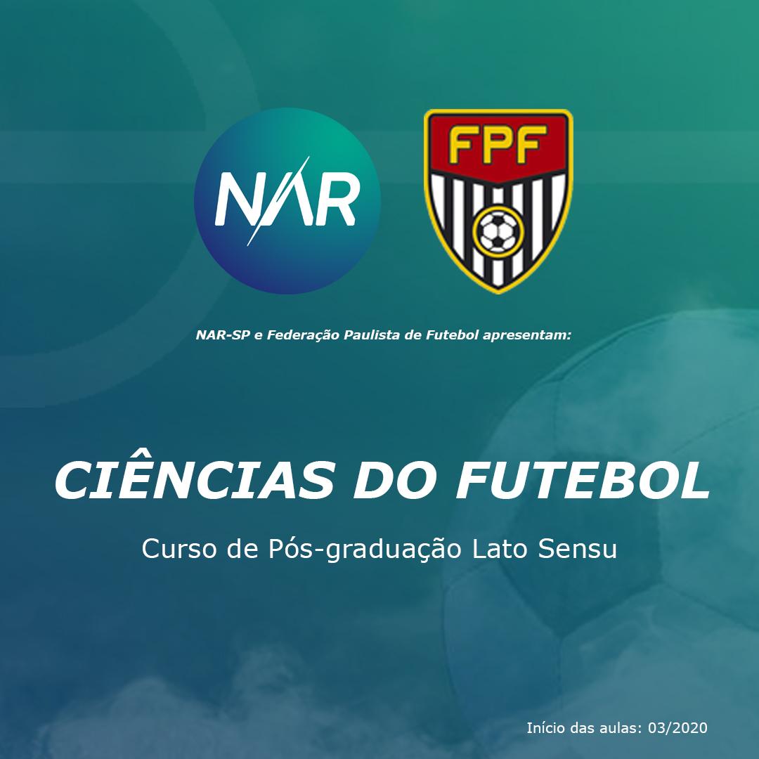 NAR-SP e FPF lançam curso de pós-graduação de Ciência do Futebol