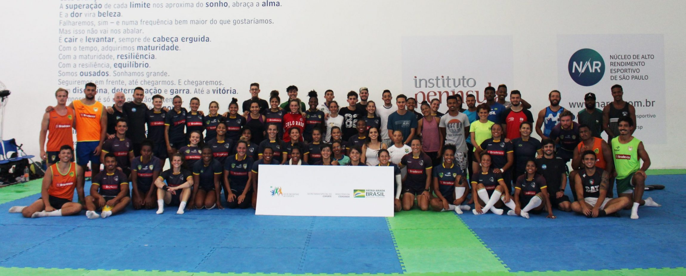 Projeto 'Avaliação Física e Treinamento em Atletas de Alto Rendimento' entra no terceiro ano