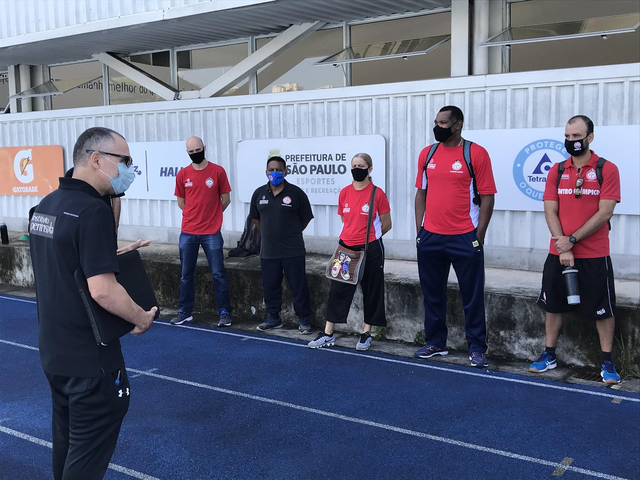 NAR recebe profissionais do Centro Olímpico de Treinamento e Pesquisa