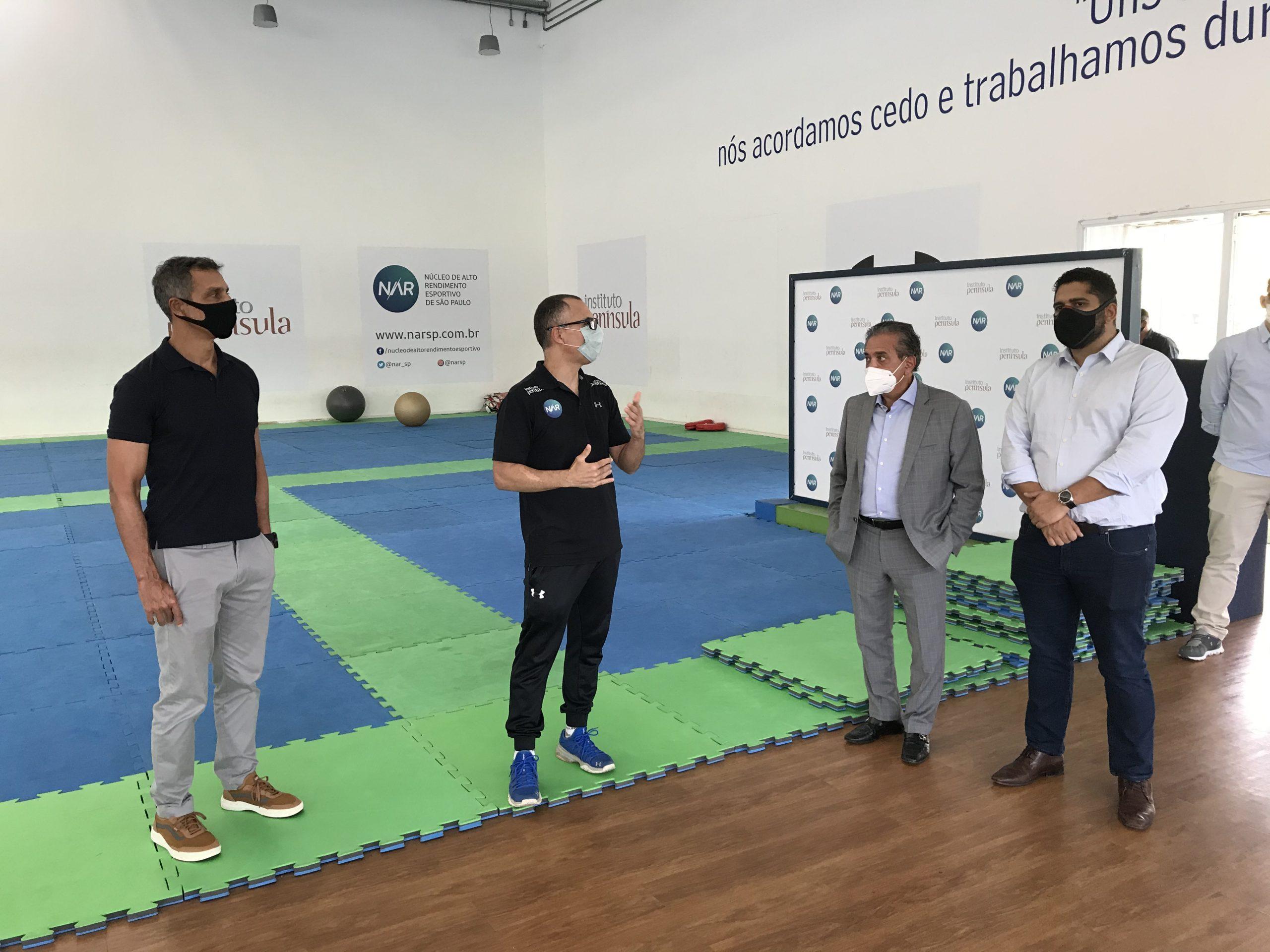 NAR-SP recebe a visita do novo secretário municipal de esportes e lazer