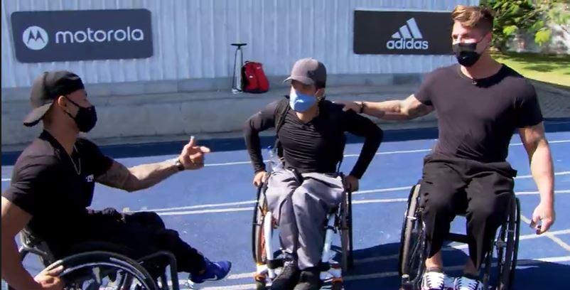 Ex-atleta que faz entregas em cadeira de rodas reencontra o esporte – Esporte Espetacular