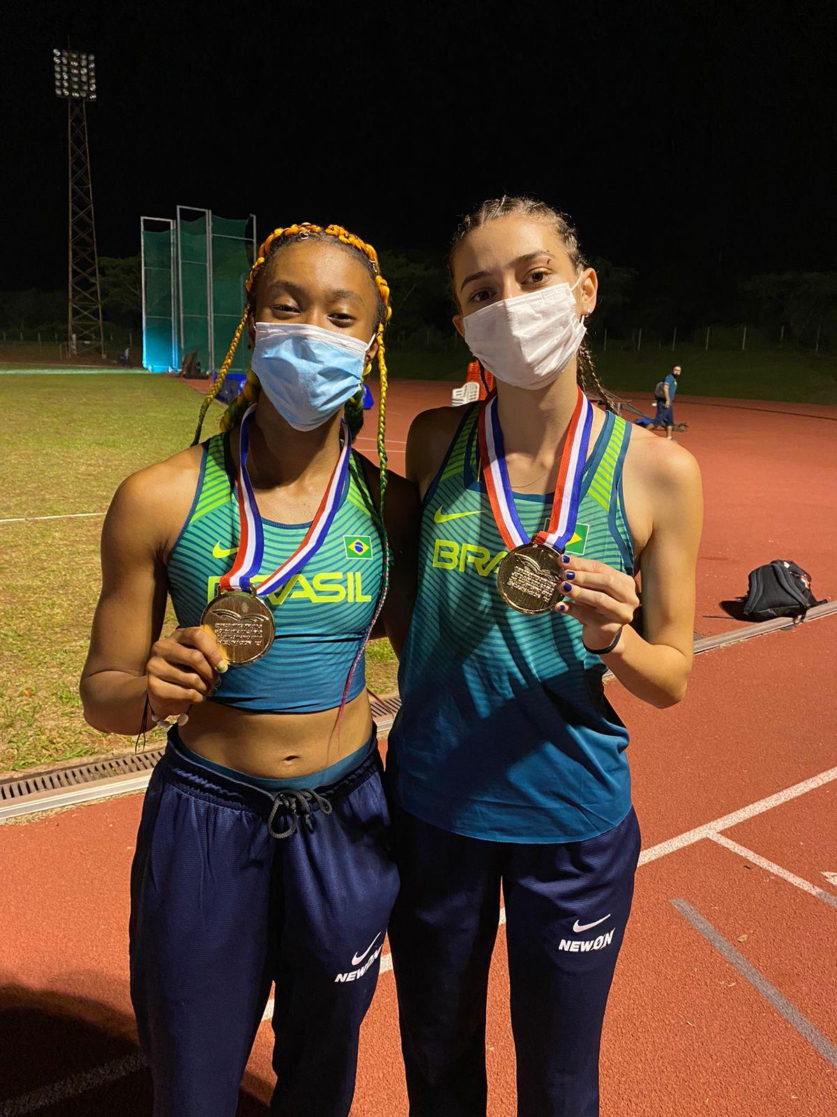 """Atletas do Projeto """"Escola de Atletismo de Jovens Talentos"""" conquistam 2 medalhas no Campeonato Sul-Americano sub-18"""