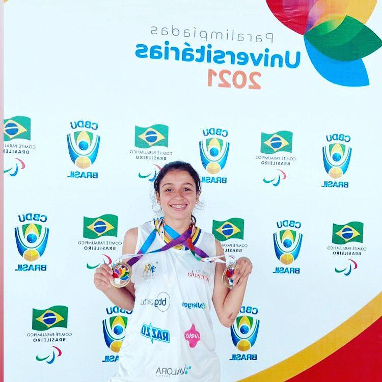"""Atleta do projeto """"Escola de Atletismo de Jovens Talentos"""" brilha em Paralimpíada Uuniversitária"""